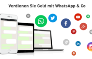 whatsappcash - zielgruppengenaues Mobile Advertising mit Whatsapp